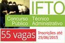 Concurso quadro técnico - IFTO