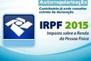 Regularização IRPF/2015